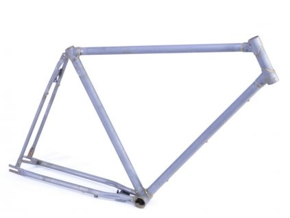 Rám silniční-ocelový Singlespeed -Retro velikost 55cm ,surový bez barvy a samolep