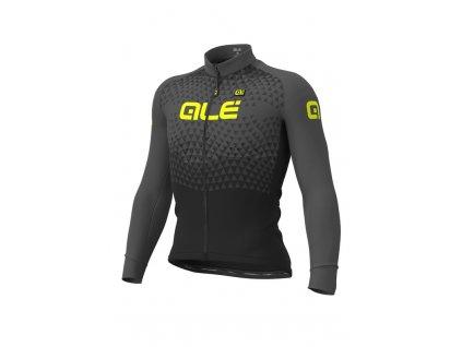 Zimní cyklistický dres ALÉ SOLID SUMMIT