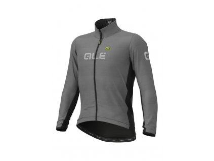 Celoreflexní cyklistická bunda ALÉ GUSCIO BLACK REFLECTIVE JACKET