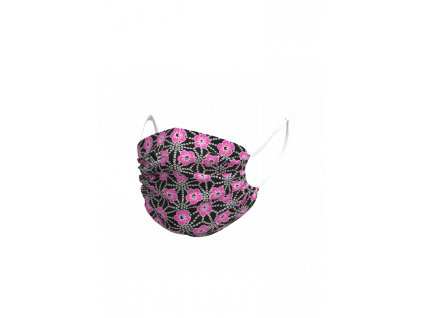 Face mask ALÉ GARDA black/pink