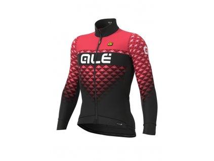 Zateplený cyklistický dres ALÉ PRS HEXA DWR