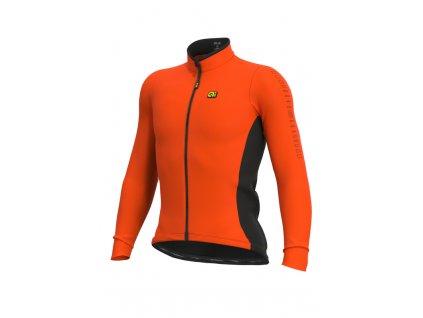 Zateplený cyklistický dres ALÉ SOLID FONDO WINTER