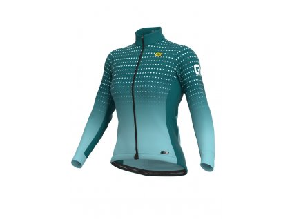 Zateplený cyklistický dres ALÉ PRS BULLET MICRO LADY