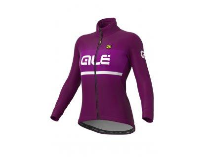 Zimní cyklistická bunda ALÉ SOLID BLEND LADY JACKET