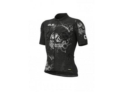 Letní cyklistický dres ALÉ PRR SKULL