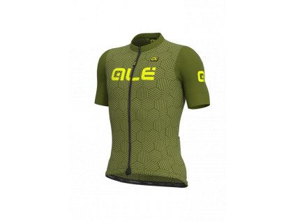 Letní cyklistický dres ALÉ SOLID CROSS