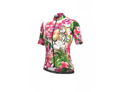 Letní cyklistický dres ALÉ PRR TIGER LADY