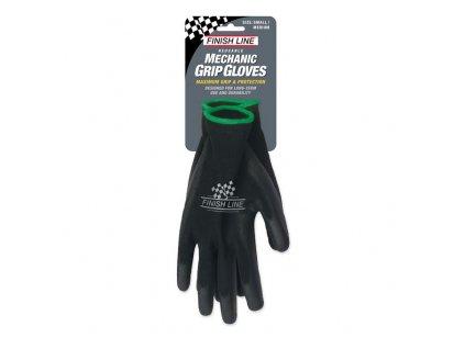 FINISH LINE Mechanic Grip Gloves-S/M