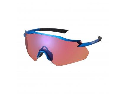 SHIMANO brýle EQUINOX, candy modrá, ridescape off-road