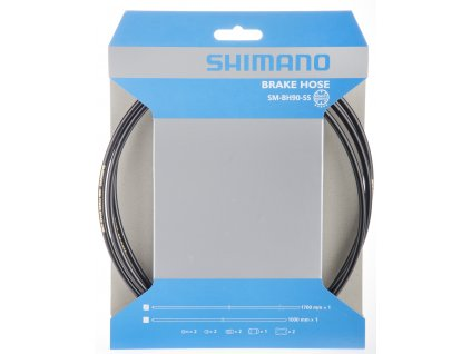SHIMANO brzdová hadice MTB SM-BH90 SS-Deore/DeoreLX 1700 mm černá bal