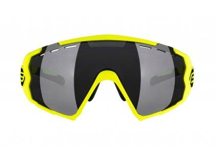 Brýle FORCE OMBRO fluo mat., černá skla