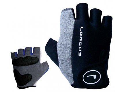 LONGUS dětské rukavice ECON 05, černé,