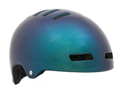 LAZER přilba Armor CE/ kovová flake zelená L + led