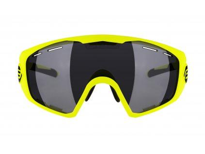 Brýle FORCE OMBRO PLUS fluo mat., černá laser skla