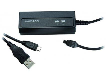 SHIMANO nabíječka baterie pro SM-BTR2 pro USB