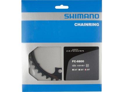 SHIMANO převodník ULTEGRA FC-6800 39 z 11 spd dvojpřevodník MD pro 53-39 z