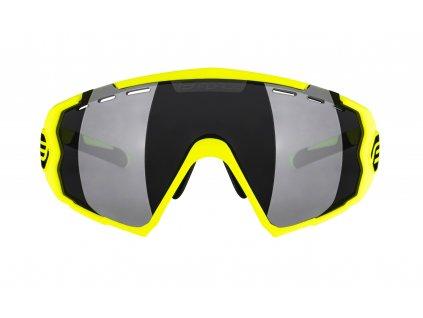 Brýle FORCE OMBRO fluo mat., černá laser skla