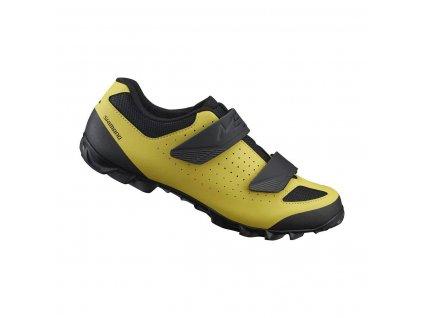 SHIMANO MTB tretry SH-ME100MY, žlutá,