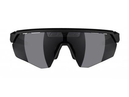 Brýle FORCE ENIGMA černo-šedé mat., černá skla