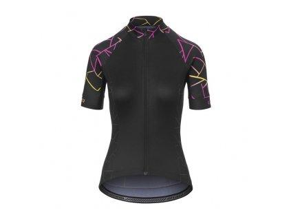 Dámský dres Dámský dres GIRO Chrono Sport Jersey W Black Craze
