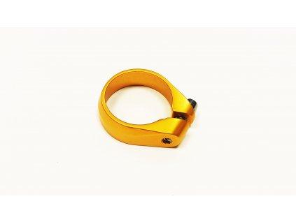 Objímka pod sedlo 31.9mm zlatá