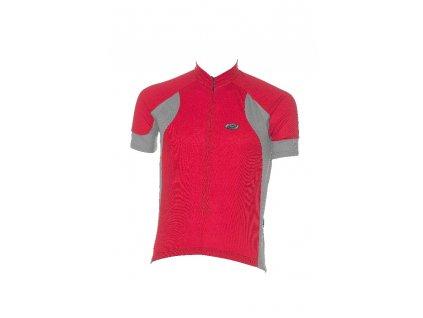 BBW-53 Duo Jersey červenošedý dres