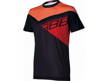 BBW-315 Gravity černo/oranžovo/červený dres