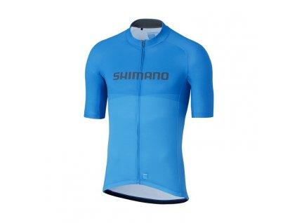 SHIMANO TEAM dres, modrý,