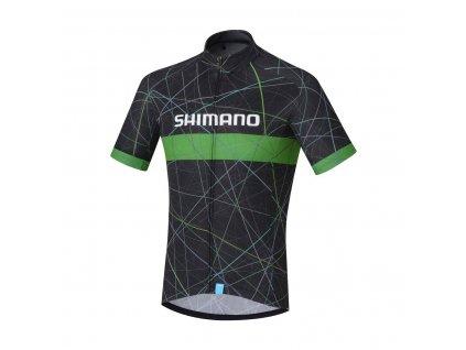 SHIMANO TEAM dres, černá,