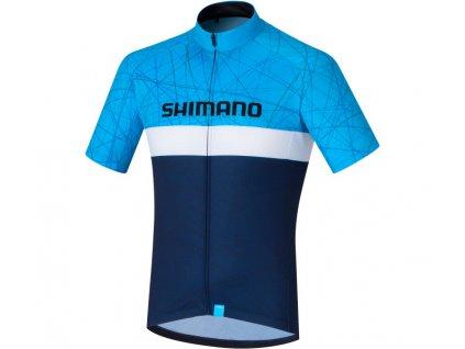 SHIMANO TEAM dres, námořní,