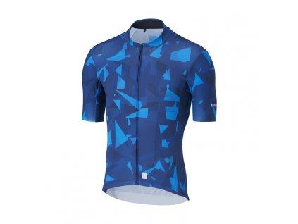 SHIMANO BREAKAWAY dres, modrý,