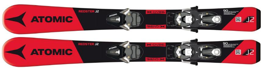 Atomic Redster J2 70-90 SR Red 80 cm + H C5 SR Bl/Wh Velikost: 80