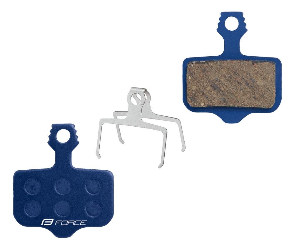 Destičky brzdové FORCE AVID Elixir polymer určení: pro SRAM/AVID, materiál: polymer/organické, chlad