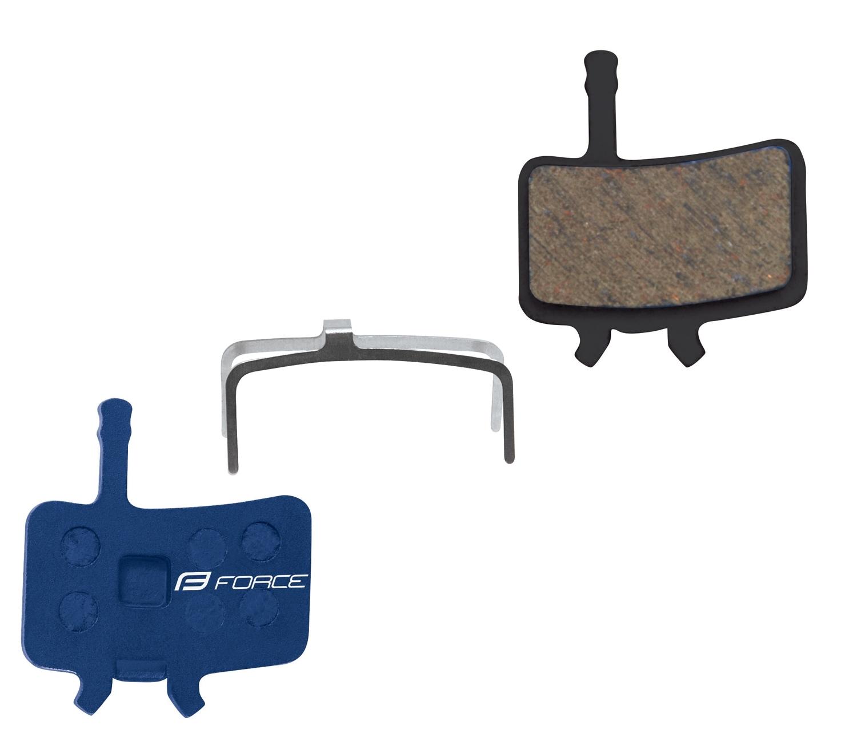 Destičky brzdové FORCE AVID Juicy polymer určení: pro SRAM/AVID, materiál: polymer/organické, chladič: ne