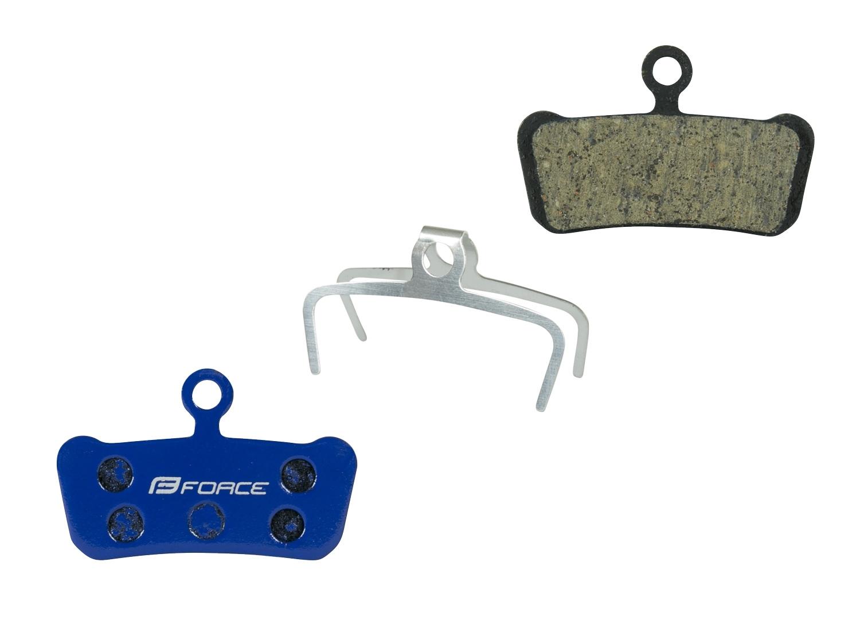 Destičky brzdové FORCE AVID Trail polymer určení: pro SRAM/AVID, materiál: polymer/organické, chladič: ne