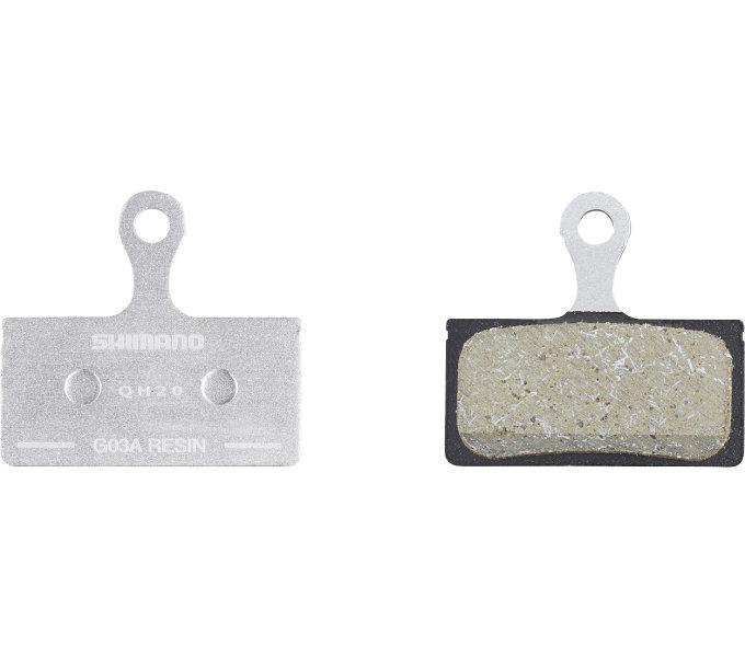 SHIMANO brzdové destičky G03A polymerové 25 párů MTB