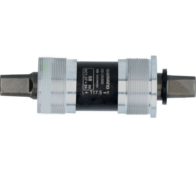 SHIMANO středové složení MTB-ostatní BB-UN300 osa 4hran 68 mm 117.5 mm nebal