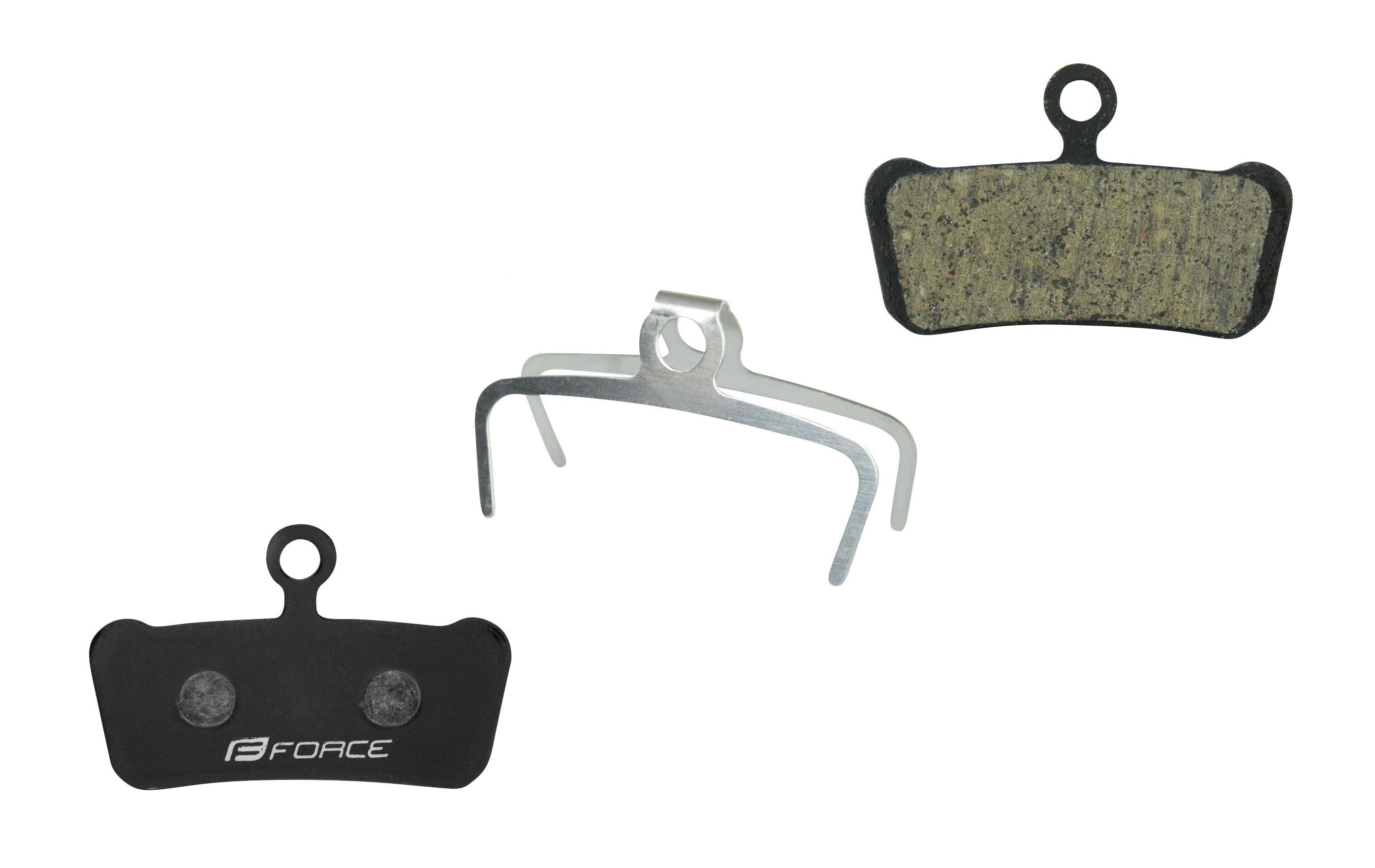 Destičky brzdové FORCE AVID Trail E-Bike polymer určení: pro SRAM/AVID, materiál: polymer-ebike, chladič: ne