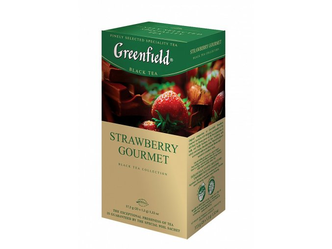 GF Black Strawberry Gourmet přebal 25x1.5g