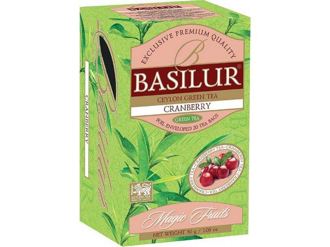 BASILUR Magic Cranberry přebal 20x1,5g