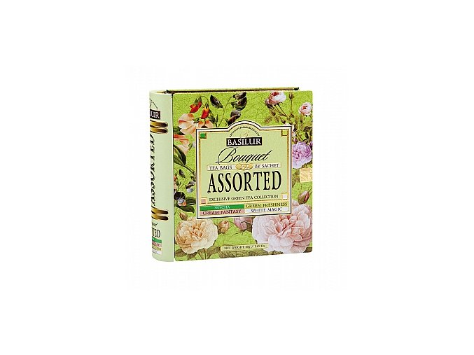BASILUR Book Assorted 32 Bouquet plech 32x1.5g