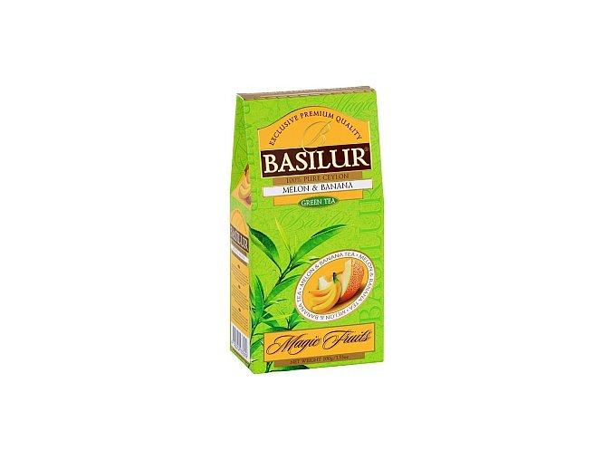 BASILUR Magic Green Melon & Banana papír 100g