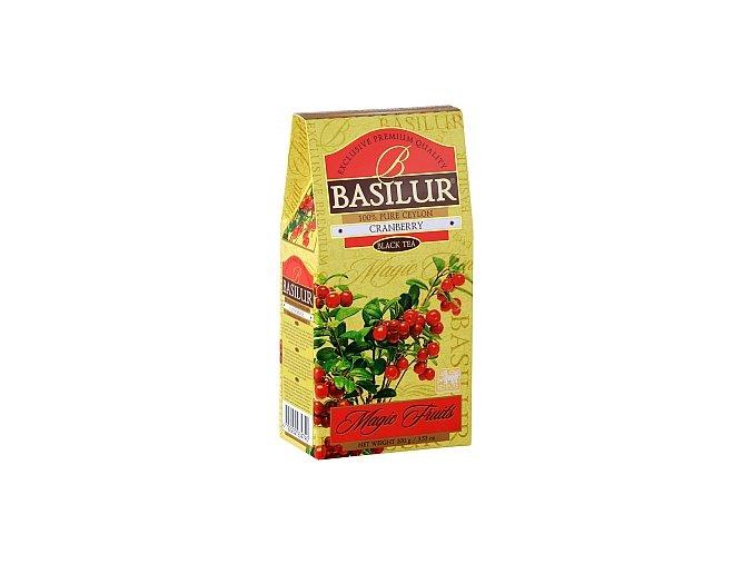 BASILUR Magic Fruits Black Cranberry papír 100g