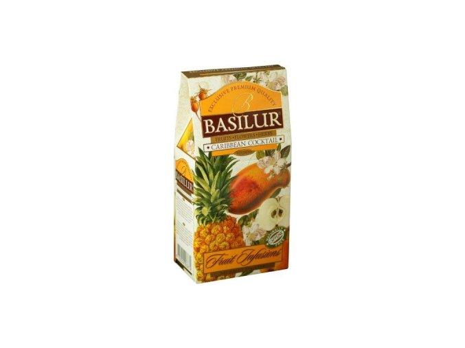 BASILUR Fruit Caribbean Cocktail papír 100g