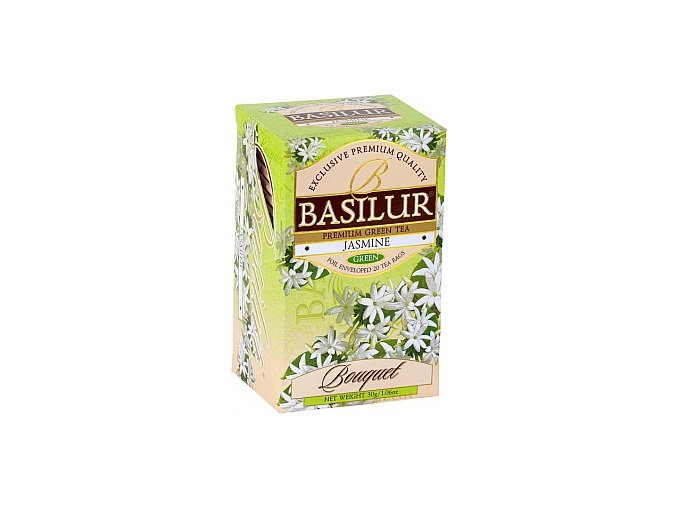 BASILUR Bouquet Jasmine přebal 25x1,5g