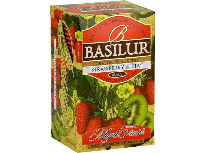 BASILUR Magic Strawberry & Kiwi přebal 20x2g