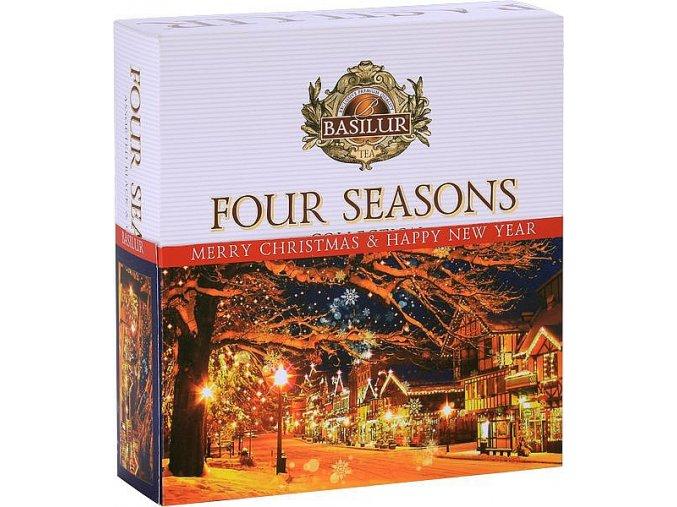 BASILUR Four Seasons Vánoční 011 Assorted přebal 40E
