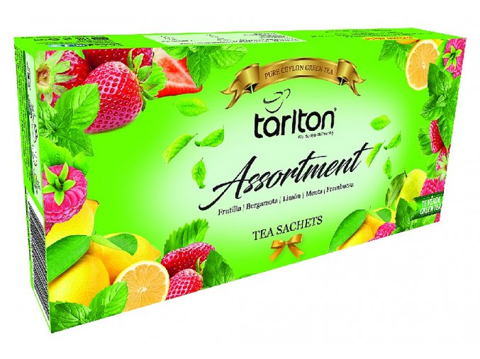 TARLTON Assortment 5 Flavour Green Tea 100x2g