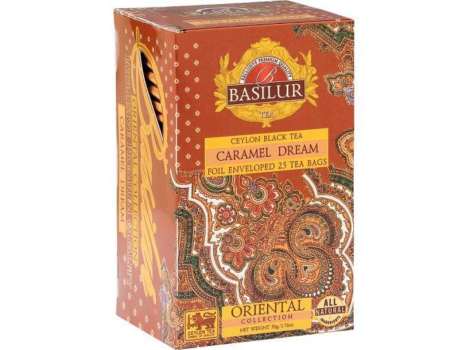 BASILUR Orient Caramel Dream přebal 25x2g