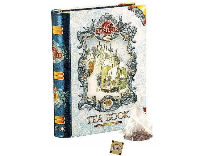 BASILUR Book Blue Pyramid malá I. 5x2g